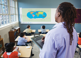 MimioPad im Unterricht