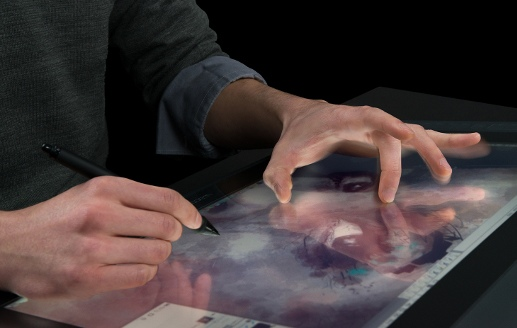 wacom touch display