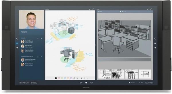 Konferenzsystem Microsoft Surface Hub Euro